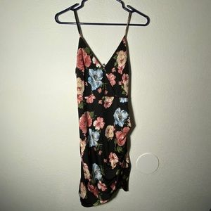 [ charlotte russe ] floral bodycon dress